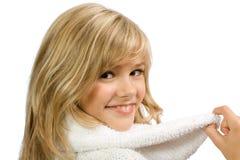 ευτυχές λευκό κοριτσιώ&n Στοκ εικόνες με δικαίωμα ελεύθερης χρήσης