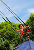 Ευτυχές μικρό κορίτσι Στοκ εικόνες με δικαίωμα ελεύθερης χρήσης