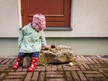 ευτυχές μικρό παιδί Στοκ Εικόνα