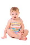 Ευτυχές μωρό πορτρέτου Στοκ φωτογραφία με δικαίωμα ελεύθερης χρήσης