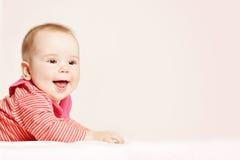 Ευτυχές μωρό στο υπόβαθρο μωρό χαριτωμένο λίγα Στοκ φωτογραφία με δικαίωμα ελεύθερης χρήσης