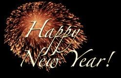 ευτυχές νέο έτος καρτών Στοκ φωτογραφία με δικαίωμα ελεύθερης χρήσης