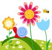 Ευτυχές λουλούδι Στοκ εικόνα με δικαίωμα ελεύθερης χρήσης