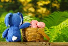 Ευτυχές Πάσχα! Διακοσμητικά αυγά Στοκ Εικόνα