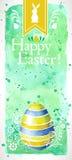 Ευτυχές Πάσχα! (+EPS 10) στοκ εικόνα
