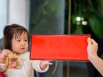 Ευτυχές παιδί, ασιατικό παιδί μωρών Στοκ φωτογραφίες με δικαίωμα ελεύθερης χρήσης