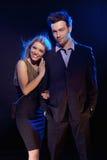 ευτυχές παντρεμένο πορτρέ& Στοκ Εικόνες