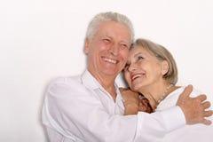 Ευτυχές παλαιότερο ζευγάρι Στοκ εικόνα με δικαίωμα ελεύθερης χρήσης