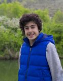 Ευτυχές πορτρέτο αγοριών σε Agva, Τουρκία Στοκ εικόνες με δικαίωμα ελεύθερης χρήσης