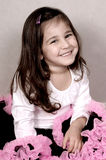 ευτυχές πορτρέτο κοριτσ στοκ εικόνες με δικαίωμα ελεύθερης χρήσης