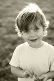 ευτυχές πορτρέτο παιδιών Στοκ εικόνα με δικαίωμα ελεύθερης χρήσης