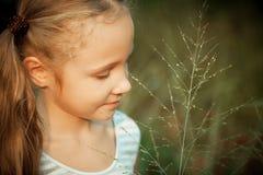 ευτυχές πορτρέτο παιδιών Στοκ Εικόνες