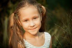 ευτυχές πορτρέτο παιδιών Στοκ Φωτογραφία