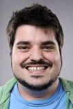 Ευτυχές πορτρέτο χαμόγελου Στοκ Εικόνα