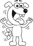 Ευτυχές σκυλί Στοκ εικόνα με δικαίωμα ελεύθερης χρήσης