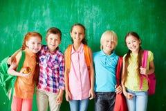 ευτυχές σχολείο φίλων Στοκ Εικόνες