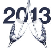 Ευτυχές το 2013 Στοκ εικόνες με δικαίωμα ελεύθερης χρήσης