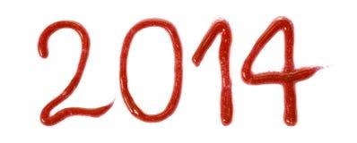 Ευτυχές το 2014 Στοκ Εικόνες