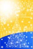 Ευτυχές υπόβαθρο ευχετήριων καρτών Χριστουγέννων - δημιουργική απεικόνιση eps10 απεικόνιση αποθεμάτων