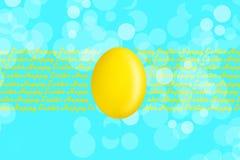 Ευτυχές υπόβαθρο Πάσχας με τα πολύχρωμα αυγά Πάσχας στο σχοινί διάστημα αντιγράφων τοποθετήστε το κείμενο χαιρετισμός καλή χρονιά διανυσματική απεικόνιση