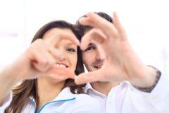 ευτυχές χαμόγελο αγάπης στοκ εικόνες