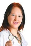 ευτυχές χαμόγελο γιατρώ& στοκ φωτογραφία με δικαίωμα ελεύθερης χρήσης
