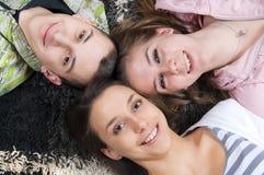 ευτυχές χαμόγελο εκφρά&sigm Στοκ Εικόνες