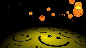 Ευτυχές χαμόγελο κινήσεων Smiley γραφικό ελεύθερη απεικόνιση δικαιώματος