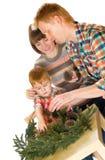 Ευτυχές χαμόγελο οικογενειακού πορτρέτου Στοκ φωτογραφία με δικαίωμα ελεύθερης χρήσης
