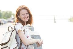 ευτυχές χαμόγελο πορτρέτου κοριτσιών Στοκ Φωτογραφίες