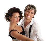 ευτυχές χαμόγελο χορού &z Στοκ φωτογραφία με δικαίωμα ελεύθερης χρήσης