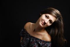 Ευτυχές χαμόγελο έφηβη Στοκ φωτογραφίες με δικαίωμα ελεύθερης χρήσης