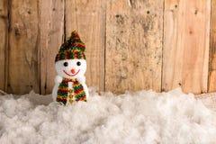 ευτυχές χιόνι σφαιρών Στοκ φωτογραφία με δικαίωμα ελεύθερης χρήσης