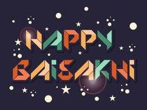 Ευτυχές Baisakhi Στοκ Εικόνα