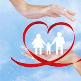Ευτυχές Family.Love Στοκ εικόνα με δικαίωμα ελεύθερης χρήσης
