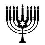 Ευτυχές Hanukkah, εβραϊκό υπόβαθρο διακοπών επίσης corel σύρετε το διάνυσμα απεικόνισης Το Hanukkah είναι το όνομα των εβραϊκών δ Στοκ εικόνες με δικαίωμα ελεύθερης χρήσης