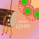 Ευτυχές Lohri Στοκ Εικόνα