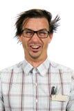 ευτυχές nerd στοκ φωτογραφία με δικαίωμα ελεύθερης χρήσης