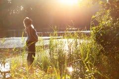 ευτυχές pregnance Στοκ Φωτογραφία