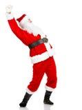 ευτυχές santa Χριστουγέννων Στοκ φωτογραφία με δικαίωμα ελεύθερης χρήσης