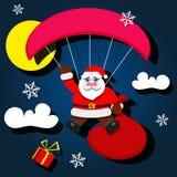 ευτυχές santa Claus Στοκ Εικόνες