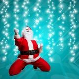 ευτυχές santa Claus Στοκ Εικόνα