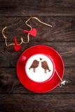 Ευτυχές Valentine& x27 ημέρα του s! Στοκ Εικόνα