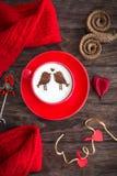 Ευτυχές Valentine& x27 ημέρα του s! Στοκ Φωτογραφία