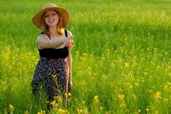ευτυχής έγκυος γυναίκα στοκ φωτογραφίες με δικαίωμα ελεύθερης χρήσης