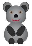 Ευτυχής λίγη αρκούδα. απεικόνιση αποθεμάτων