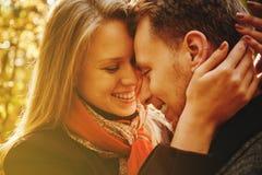 ευτυχής αγάπη ζευγών Στοκ εικόνα με δικαίωμα ελεύθερης χρήσης
