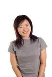 ευτυχής αθλήτρια χαμόγε&la Στοκ εικόνες με δικαίωμα ελεύθερης χρήσης