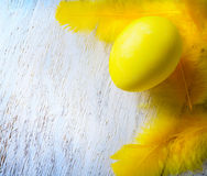 Ευτυχής ανασκόπηση αυγών Πάσχας Στοκ φωτογραφίες με δικαίωμα ελεύθερης χρήσης