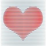Ευτυχής απεικόνιση υποβάθρου καρδιών ημέρας βαλεντίνων Διανυσματική απεικόνιση